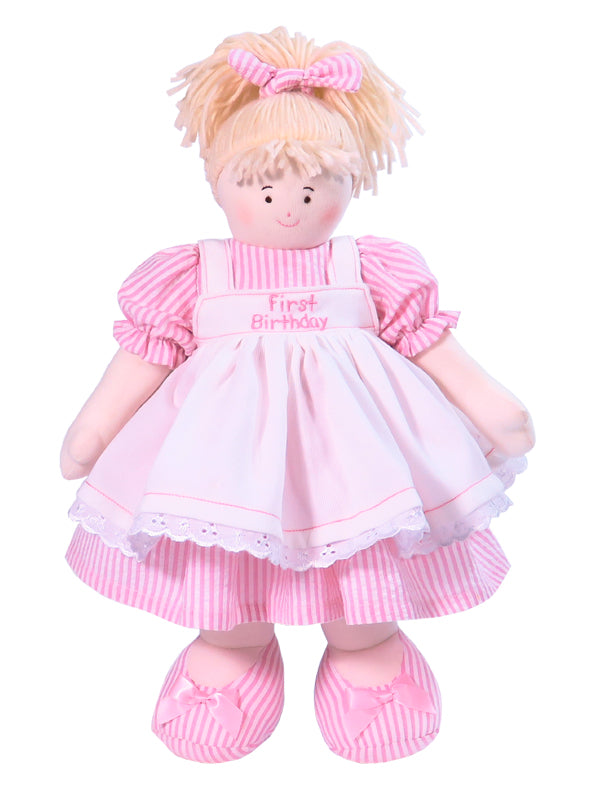 My First Birthday Rag Doll