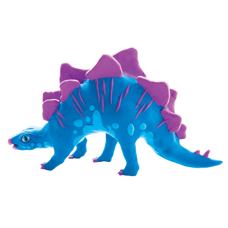 Make a Stegosaurus