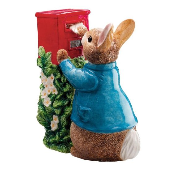Peter Rabbit Posting Letter Money Bank