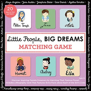 Matching Game Little people