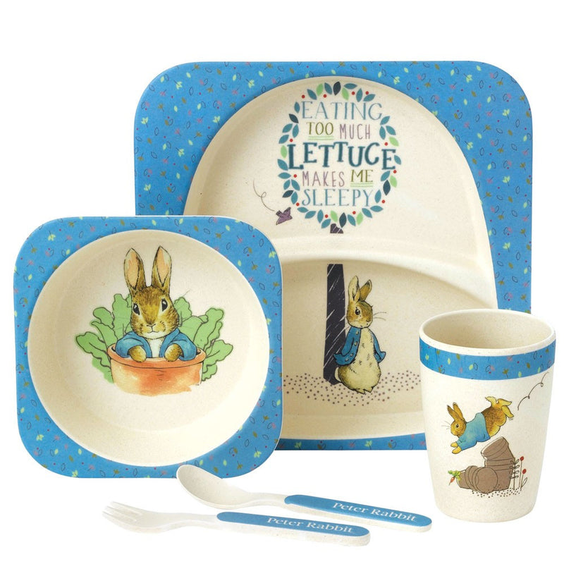 Organic Peter Rabbit Dinner Set