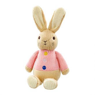 Flopsy Bunny Knitted
