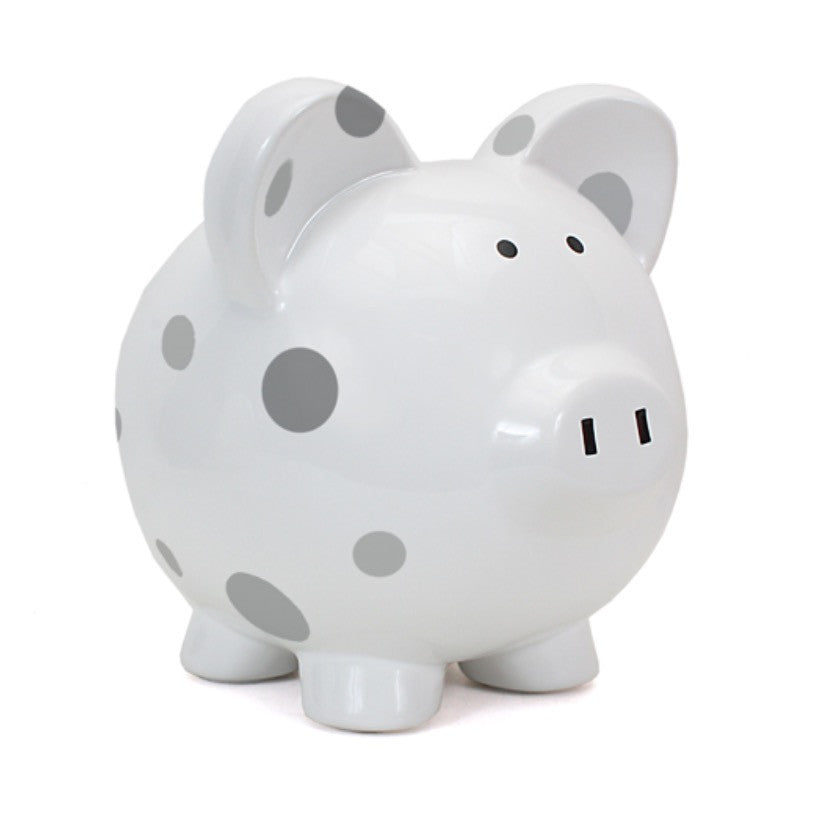 Piggy Bank - Polka Dot