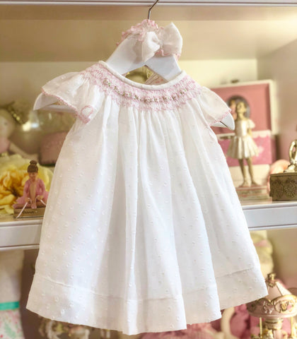 Alexandra Smocked Dress