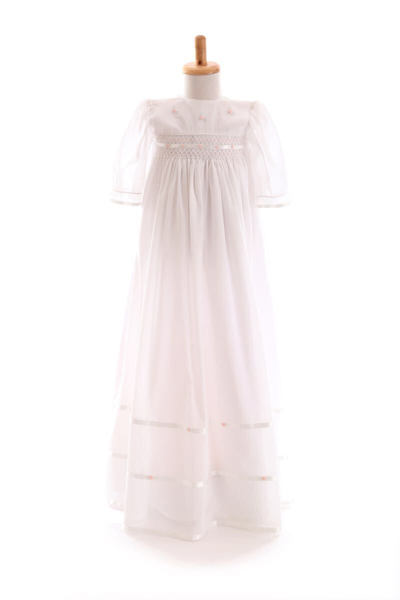 Voile Christening Gown