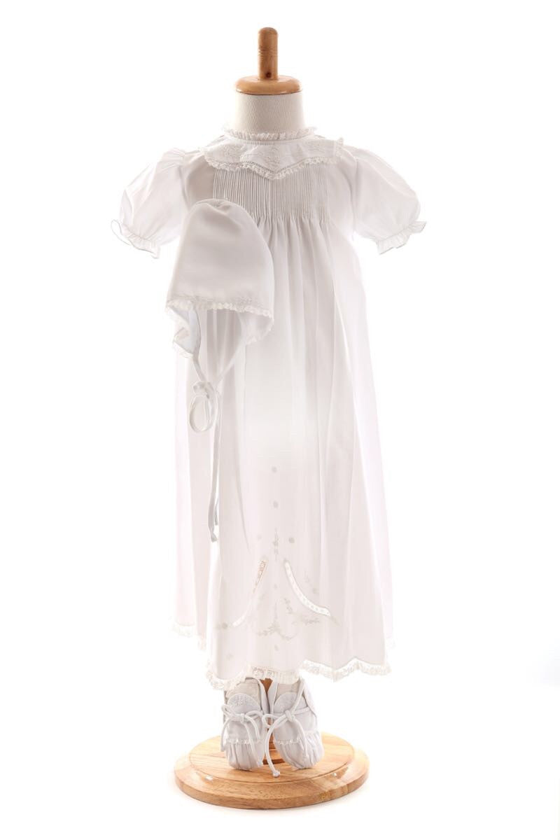 Shemiz Christening Robe Set Shemiz