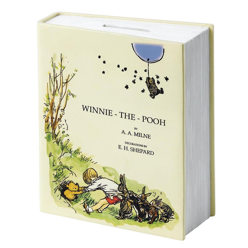 90th Anniversary Pooh Book Money Box