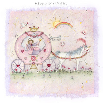 Happy Birthday Carriage Card