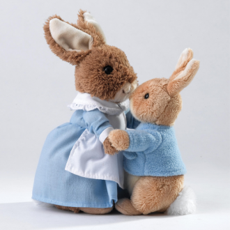 Peter Rabbit & Mrs. Rabbit