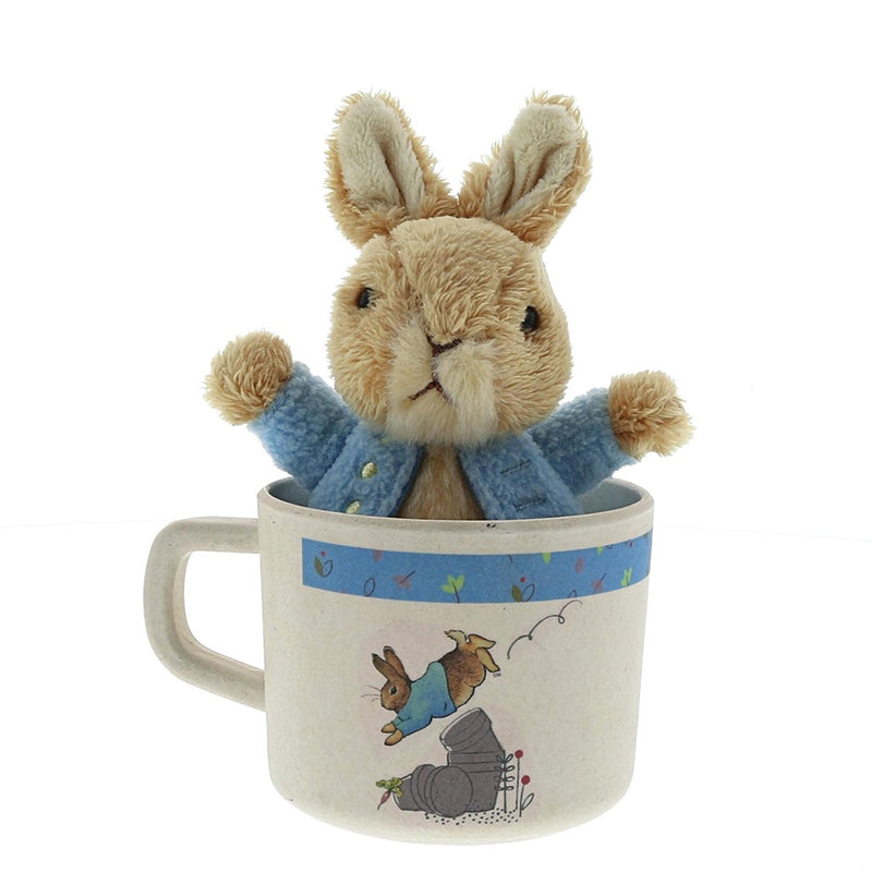 Peter Rabbit Organic Mug & Toy Set
