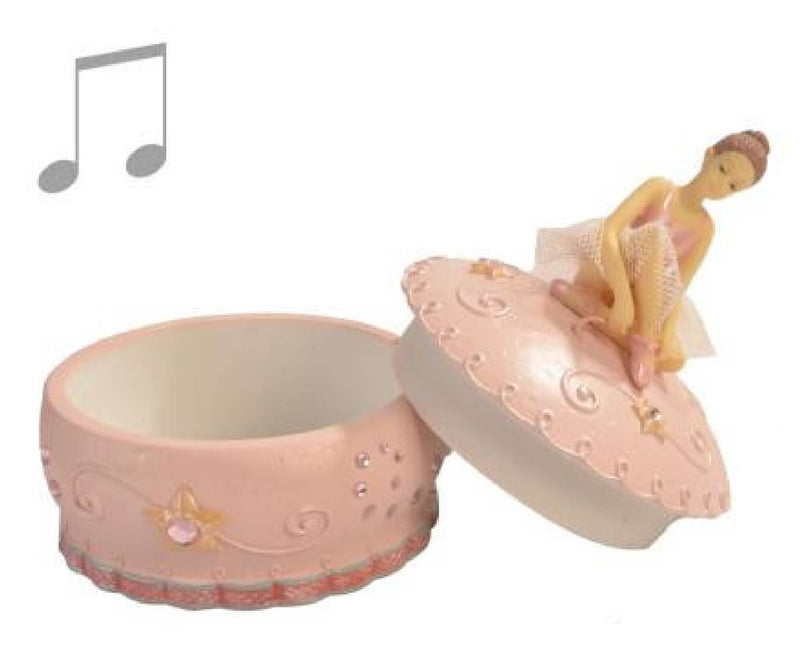 Musical Ballerina Trinket Box