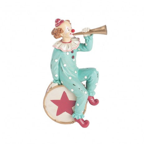 Clown with Trumpet