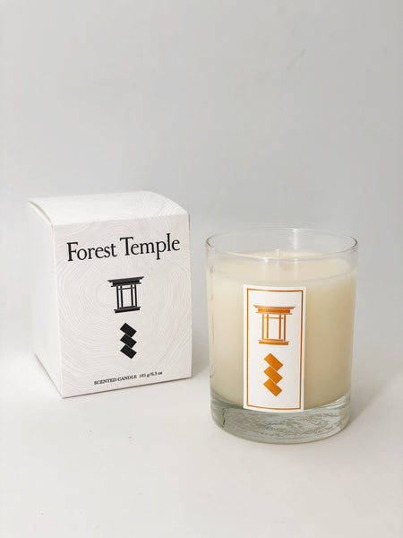 Forest Temple Scented Candle