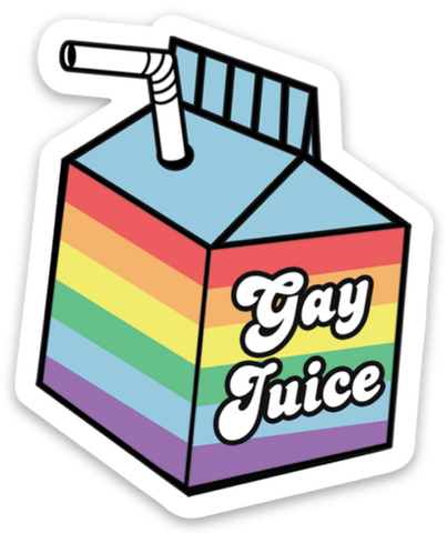 Gay Juice Sticker