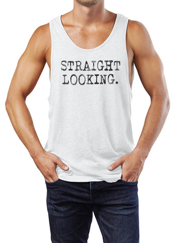 Straight Looking Tank - The Equality Shop