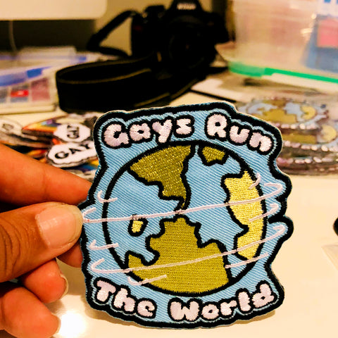 Gays Run the World Patch