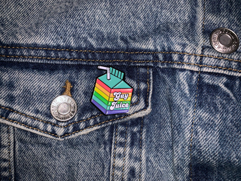 Gay Juice Pin