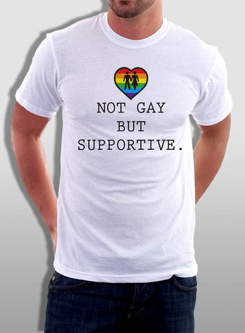 Not Gay But Supportive Tank - The Equality Shop