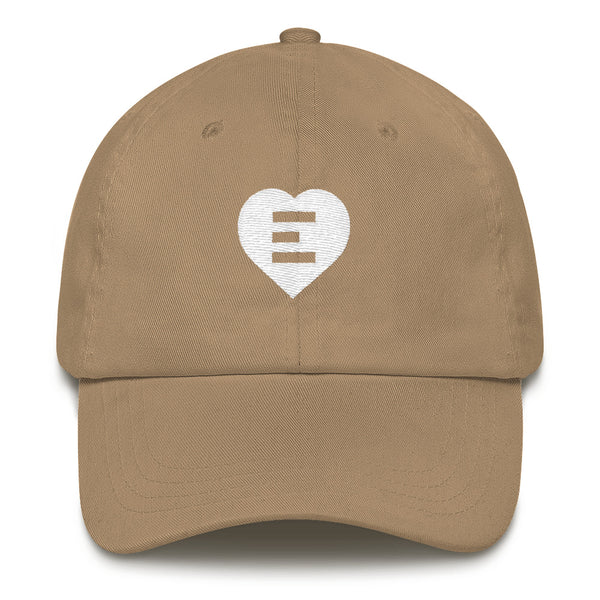 Equality Heart Dad hat