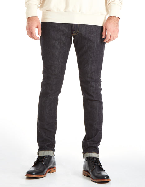 Slim Straight - Le Greg (INDIGO RAW) (SELVAGE)