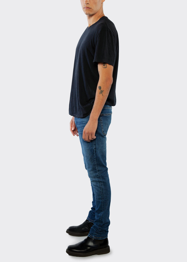 Slim Straight Fit Jean - Electric Blue