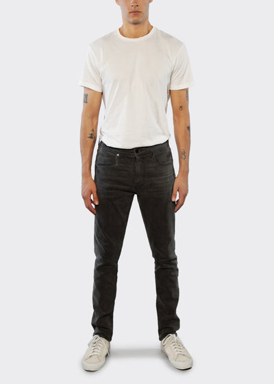 Slim Straight Fit Jean - Charcoal