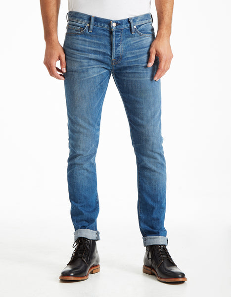 Slim Straight - Le Greg (VINTAGE BLUE) (SELVAGE)