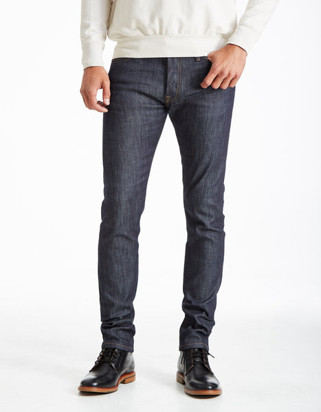 Slim Straight - Le Greg (INDIGO RAW)