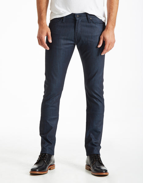 Slim Straight - Le Greg (COATED BLUE)