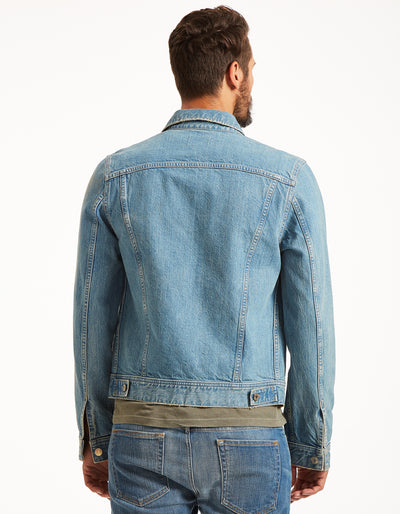 The Rider Jacket in Vintage Blue
