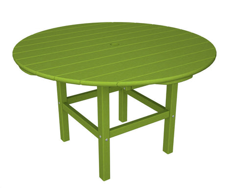 "Polywood RKT38LI 38"" Kids Dining Table in Lime - PolyFurnitureStore"