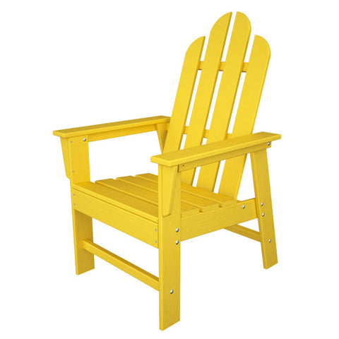 Polywood ECD16LE Long Island Dining Chair in Lemon - PolyFurnitureStore