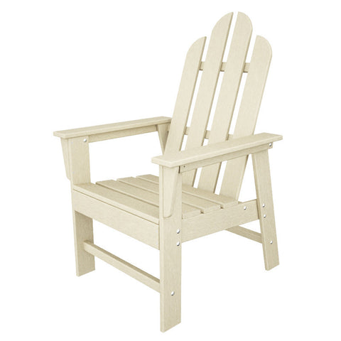 Polywood ECD16SA Long Island Dining Chair in Sand - PolyFurnitureStore