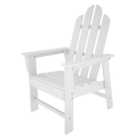 Polywood ECD16WH Long Island Dining Chair in White - PolyFurnitureStore