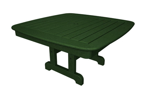 "Polywood NCCT37GR Nautical 37"" Conversation Table in Green - PolyFurnitureStore"