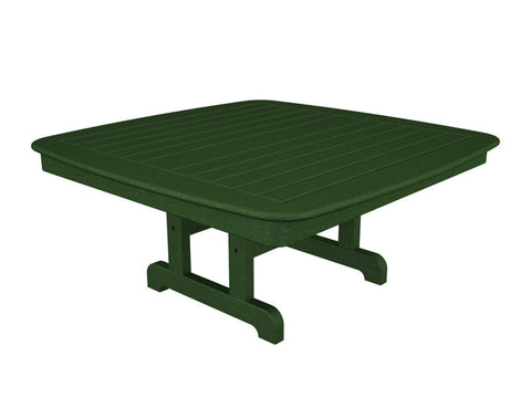 "Polywood NCCT44GR Nautical 44"" Conversation Table in Green - PolyFurnitureStore"