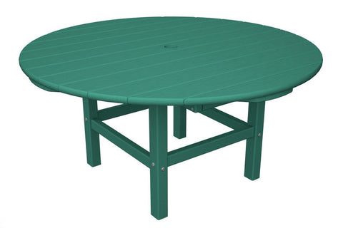 "Polywood RCT38AR Round 38"" Conversation Table in Aruba - PolyFurnitureStore"