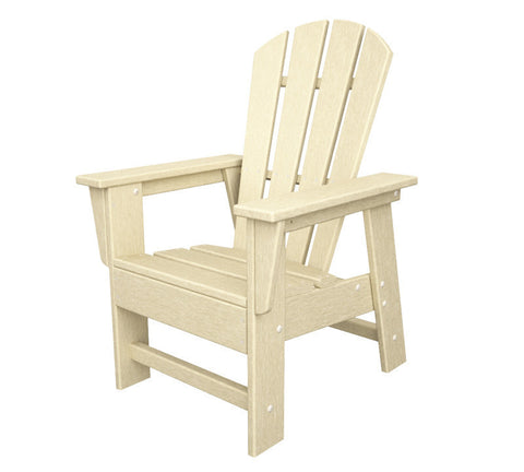 Polywood SBD12SA Kids Casual Chair in Sand - PolyFurnitureStore