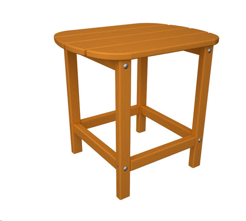 "Polywood SBT18TA South Beach 18"" Side Table in Tangerine - PolyFurnitureStore"