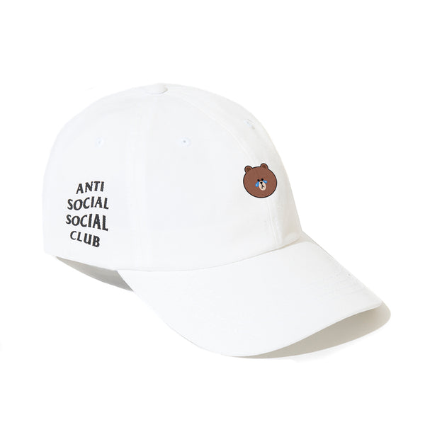 LINE FRIENDS | ASSC BROWN WHITE CAP