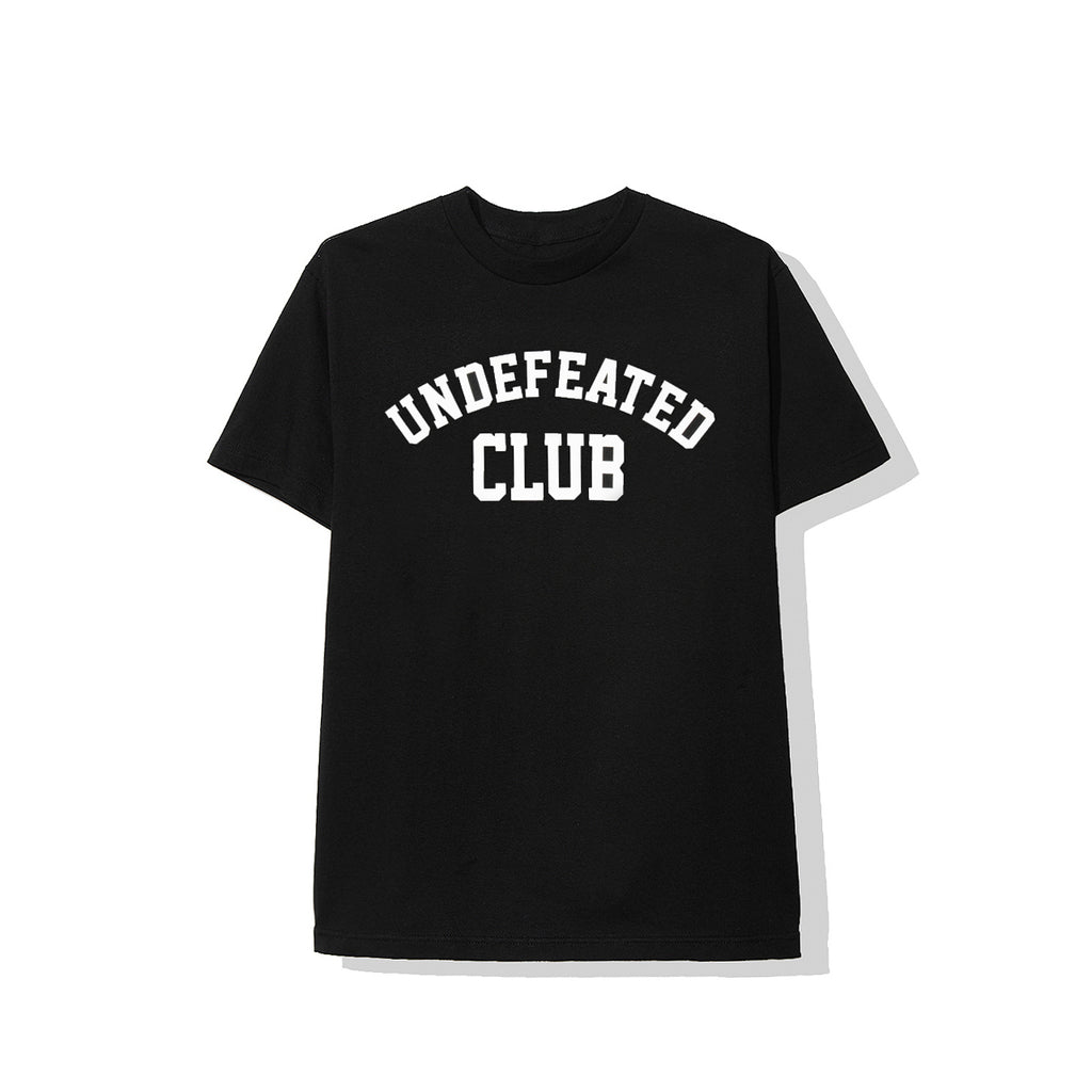 Undefeated Club | ASSC Club Black Tee