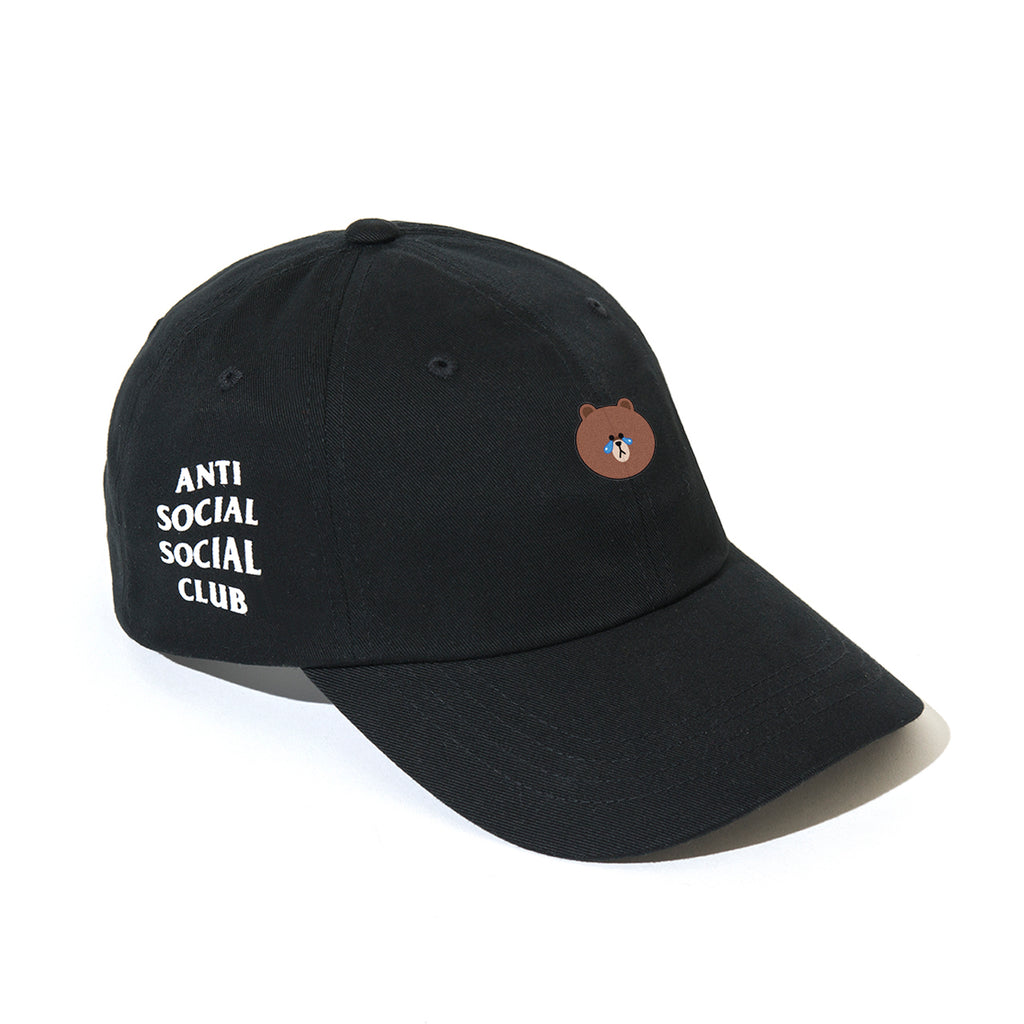 LINE FRIENDS | ASSC BROWN BLACK CAP