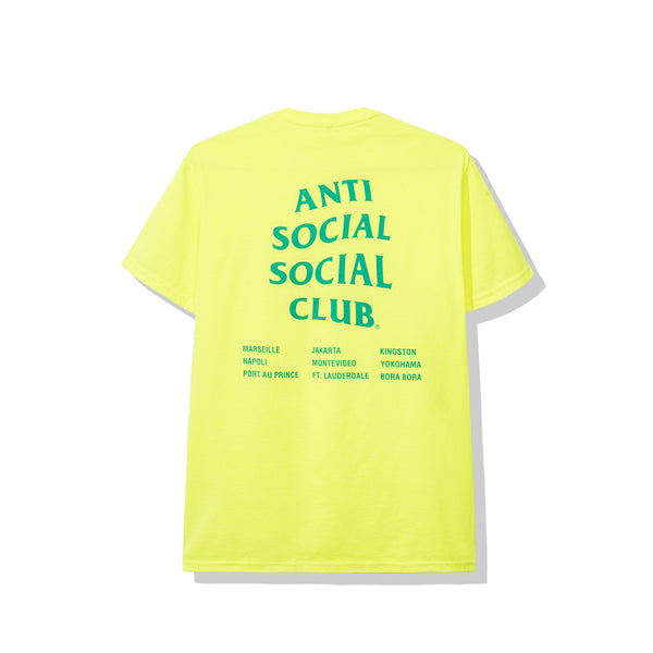 Club Med Neon Green Tee