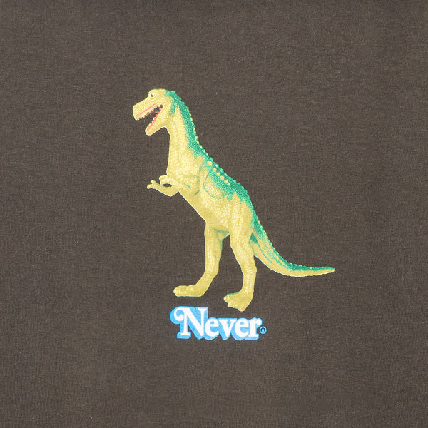 Plastic T-Rex Brown Tee