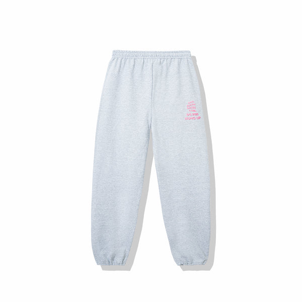 Dialtone Heather Grey Sweat Pants