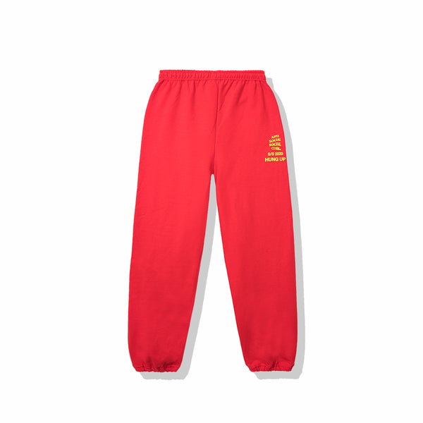 Dialtone Red Sweat Pants