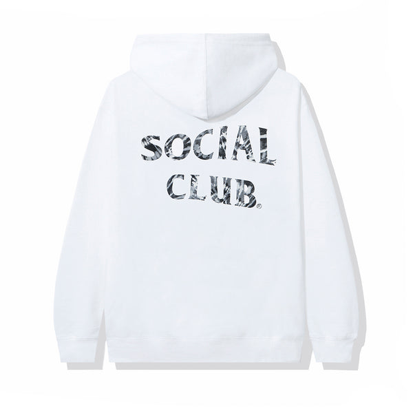 Funky Forest White Hoodie