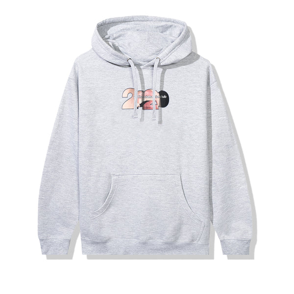 Mouthful Grey Hoodie