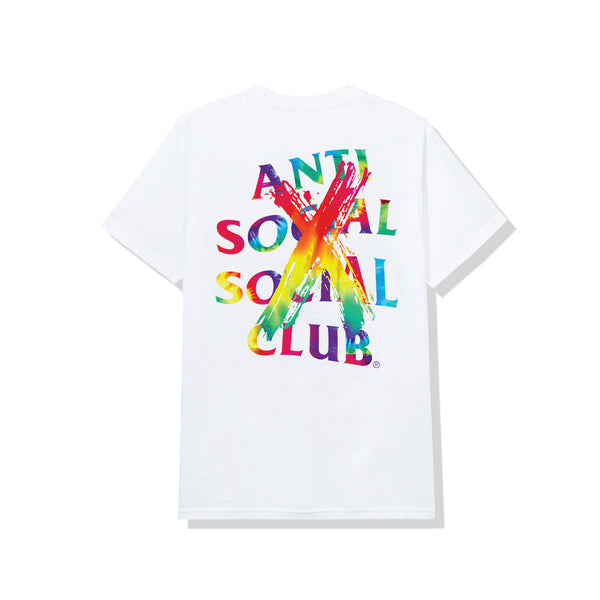 Cancelled Rainbow White Tee