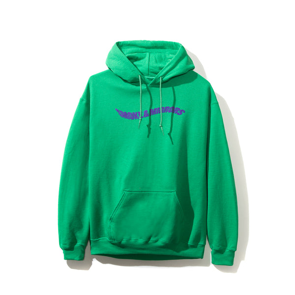 Smoke and Mirrors Green Hoodie